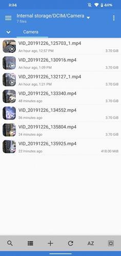 Android 11, 4 GB dosya boyutunun üzerinde video kaydetmeye izin verecek