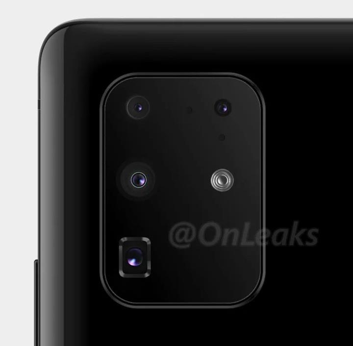 Samsung Galaxy S11+ kamera tasarımı ile karşımızda