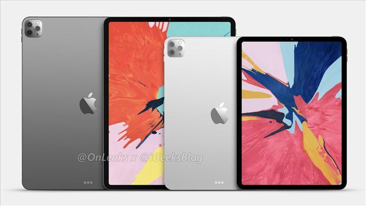 iPad Pro 2020 şablon çizimleri sızdırıldı