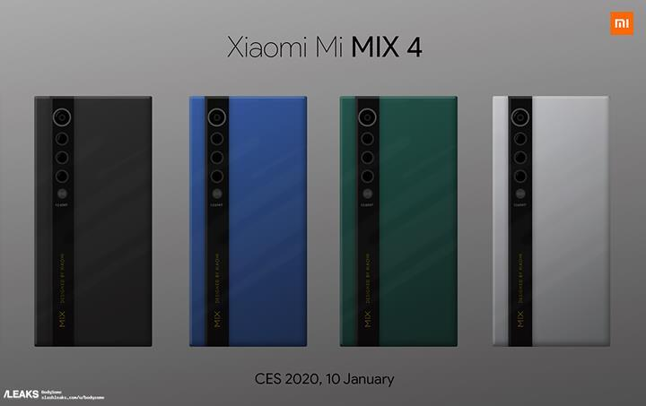 Xiaomi Mi Mix 4 canlı olarak görüntülendi