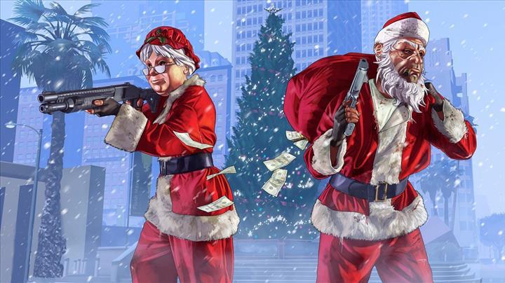 GTA V, Noel döneminin en çok indirilen oyunu oldu