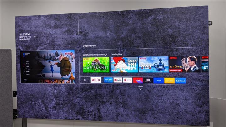 Samsung türünün ilk örneği olacak çerçevesiz bir televizyon tanıtmaya hazırlanıyor