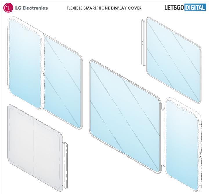 LG katlanabilir ekranlı bir akıllı telefon kılıfı geliştiriyor