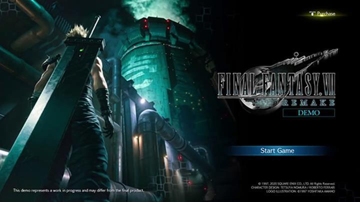 Final Fantasy VII Remake'in açılış ile demosunun oynanış videoları sızdı
