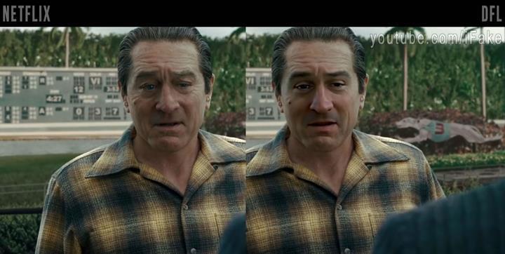 The Irishman filminin karakterleri ücretsiz DeepFake teknolojisi ile gençleştirildi