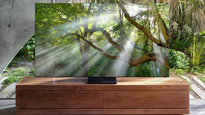 Samsung'un çerçevesiz televizyonu ortaya çıktı