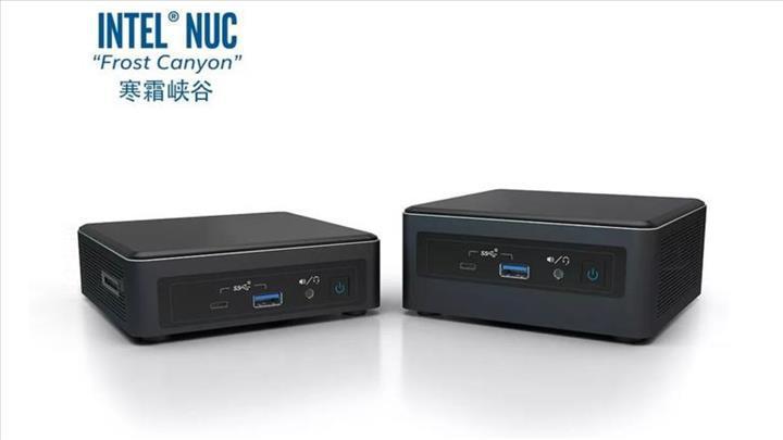 Yeni nesil Intel NUC serisi satışa başlıyor
