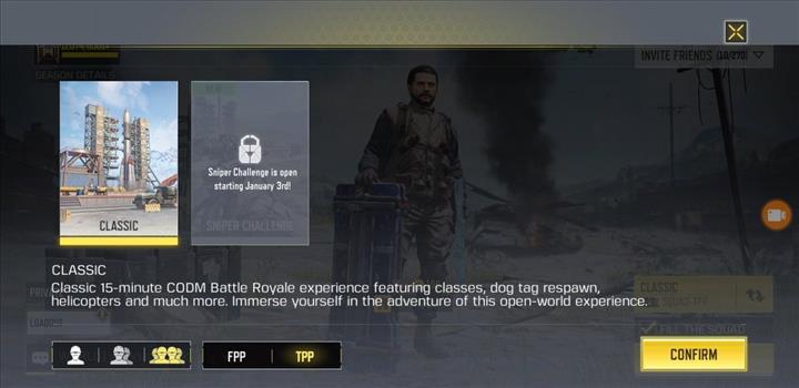 Call of Duty: Mobile Battle Royale'e  Sniper Challenge geliyor
