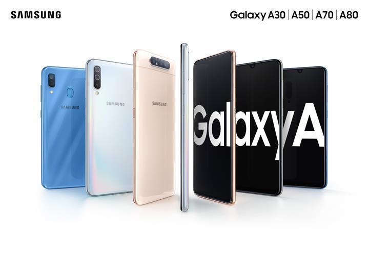 Samsung, 9 yeni Galaxy A serisi akıllı telefon markasını tescil ettirdi