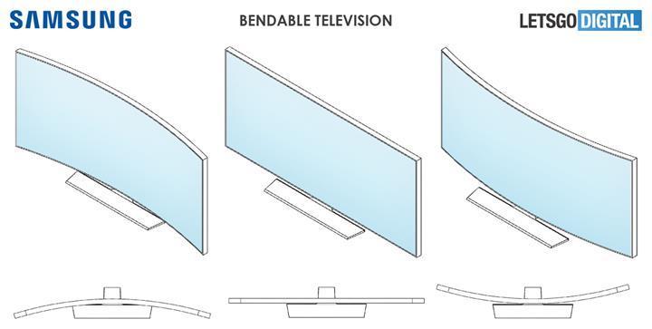 Samsung düz veya kavisli olarak kullanılabilen televizyonunu CES 2020'de tanıtabilir
