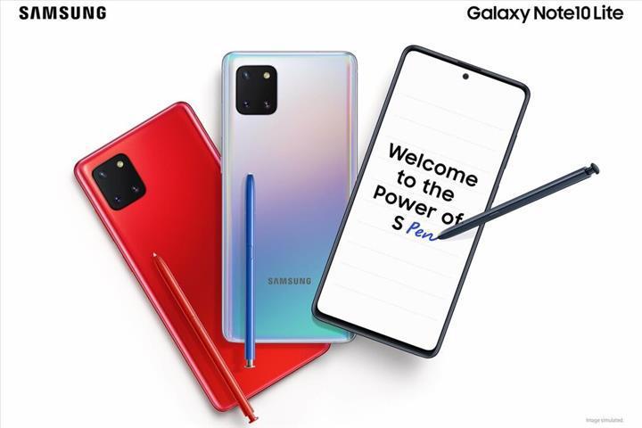 Karşınızda Samsung Galaxy Note 10 Lite