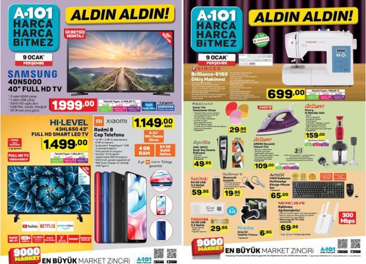 Haftaya A101 marketlerde Redmi 8 modeli var