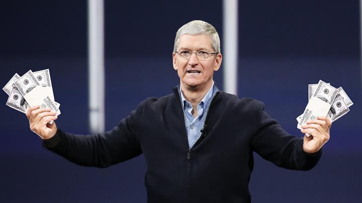 Apple CEO'su Tim Cook, 2019 yılında 11.5 milyon dolar kazandı
