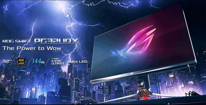 DisplayHDR 1400 sertifikalı Asus ROG  Swift PG32UQX oyuncu monitörü duyuruldu