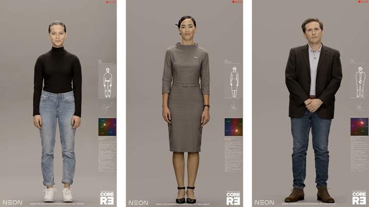 Samsung'un yapay insan projesi NEON tanıtıldı
