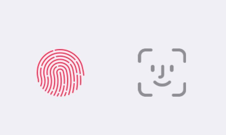 Samsung, CES 2020 sunumunda Apple'ın Face ID ve Touch ID ikonlarını kullandı