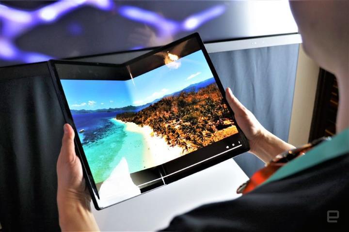 Intel'in katlanabilir ekrana sahip 17 inçlik tableti Horseshoe Bend tanıtıldı