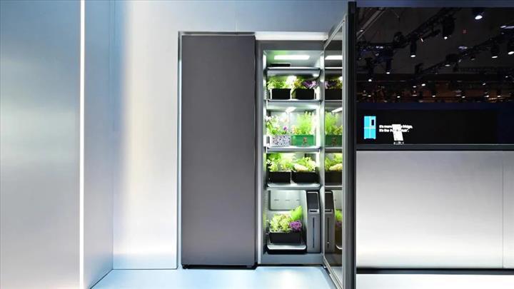 Samsung da iç mekan bitki yetiştirme sistemi geliştirdi