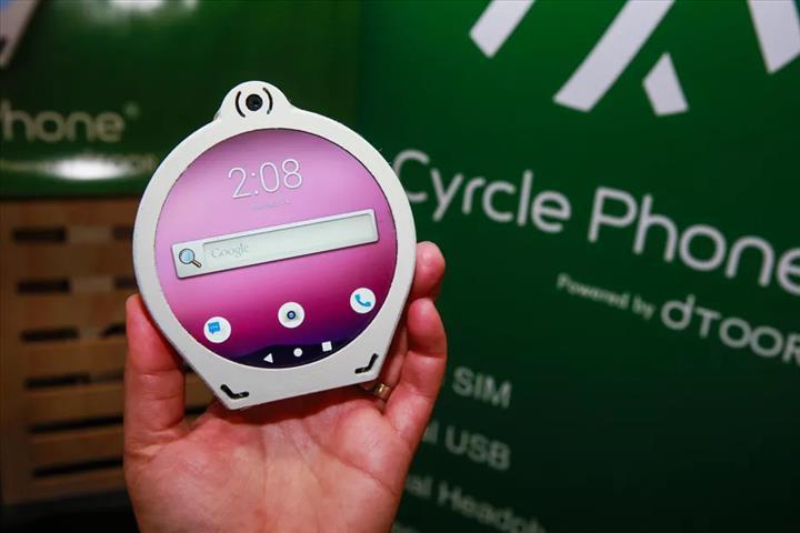 CES 2020'de yuvarlak ekranlı akıllı telefon tanıtıldı: Cyrcle Phone