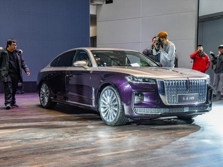 Bu da Çinlilerin Rolls-Royce'u: Hongqi H9