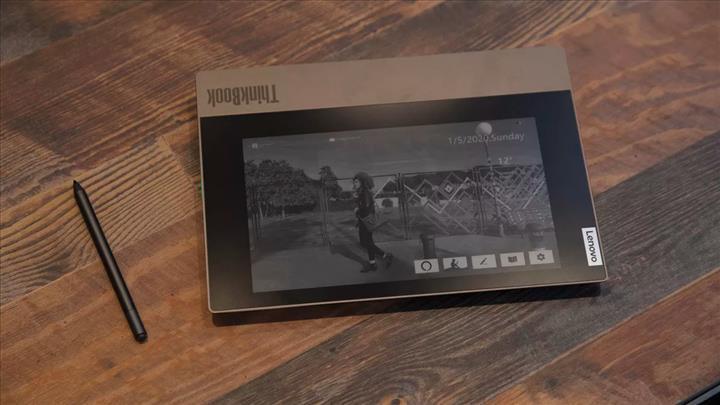 Lenovo ThinkBook Plus e-mürekkep ekranı ile iddialı