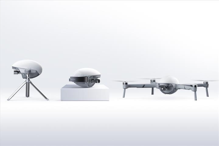 PowerEgg X aynı zamanda bir video kamera olabiliyor