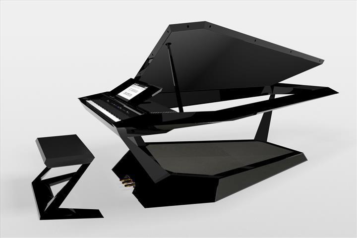 Roland fütüristik dijital piyanosunu CES 2020 fuarına getirdi