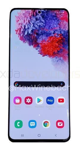 Samsung Galaxy S20+ ilk kez canlı olarak görüntülendi
