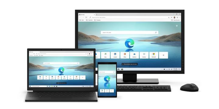 Microsoft, Chromium tabanlı Edge tarayıcısını başlattı