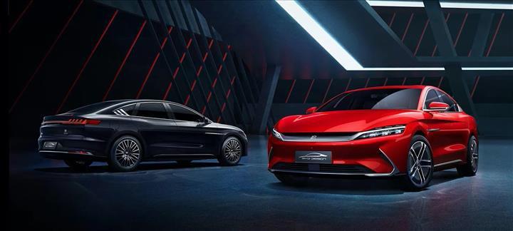 Çinli üretici BYD, elektrikli sedan modeli Han'ın görsellerini paylaştı