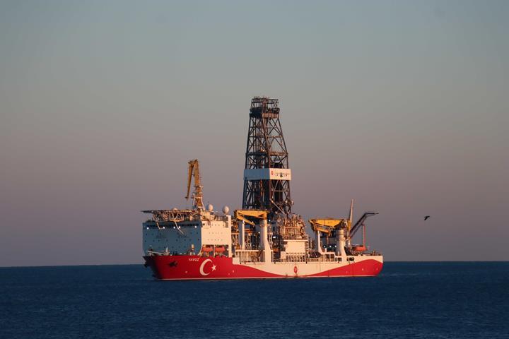 Yavuz sondaj gemisi yeni görevine başlıyor