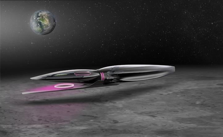 Lexus'tan Ay yüzeyi için araç tasarımları geldi