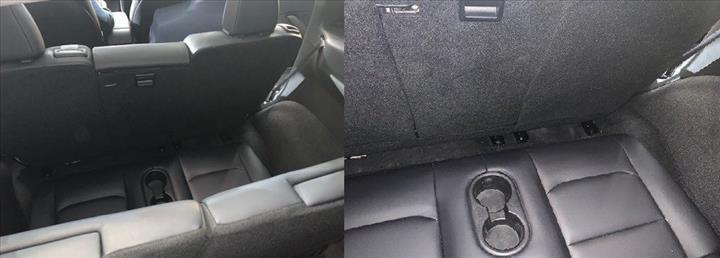 Tesla Model Y'nin üçüncü sıra koltukları, araç içinden görüntülendi