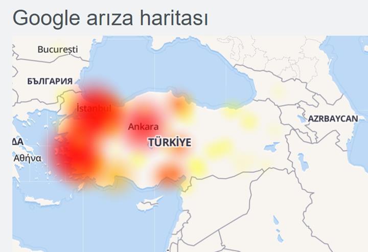 Türk Telekom kullanıcıları Google ve Google servislerine erişemiyor