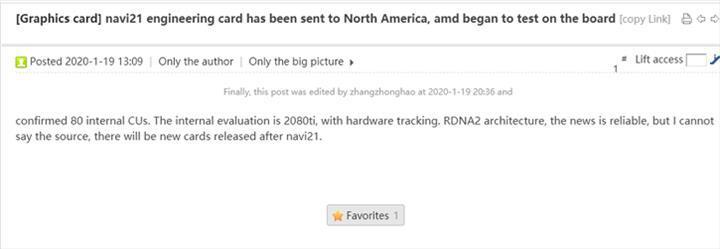 AMD RX 5800 XT 80 CU ile gelebilir