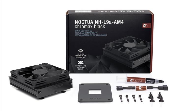 Noctua siyah temaya sahip NH-L9A-AM4'ü duyurdu