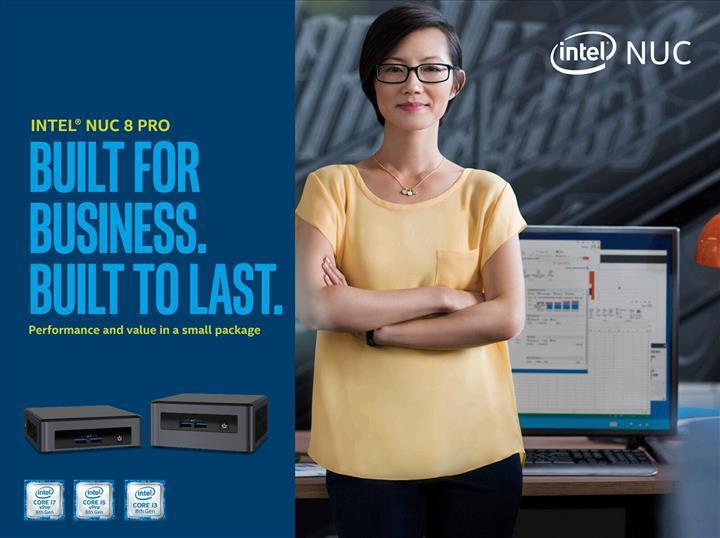 Intel kurumsal pazara yönelik NUC 8 Pro'yu duyurdu