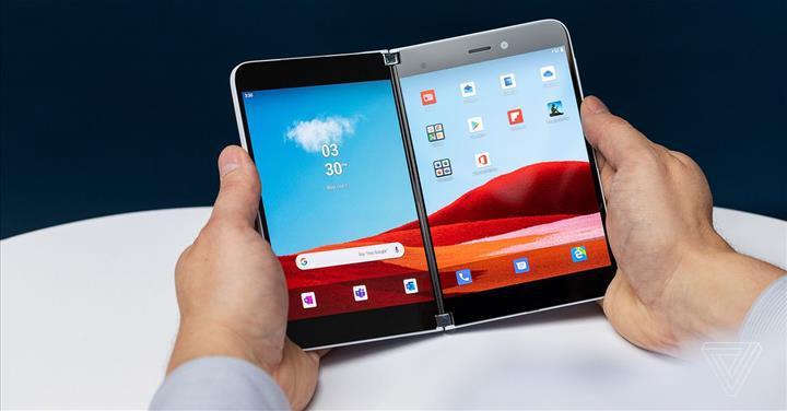 Microsoft, çift ekranlı Surface Duo için geliştirici kiti yayınladı