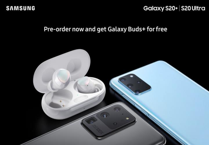 Galaxy S20 ön siparişi verenlere Galaxy Buds+ hediye edilecek