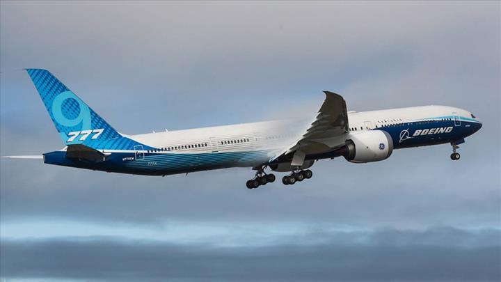 Boeing 777X: Çift motorlu dünyanın en büyük uçağı ilk uçuşunu yaptı