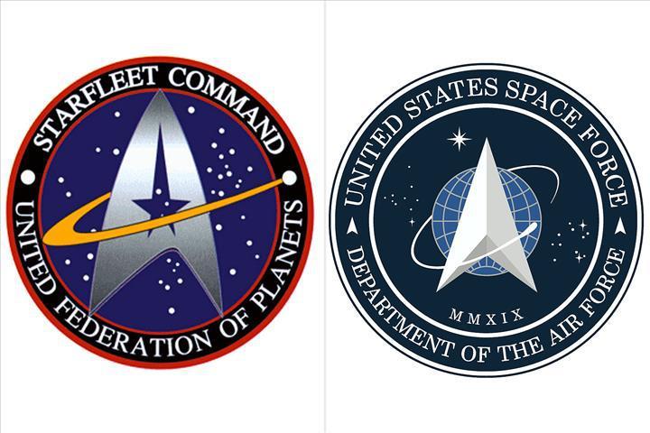 ABD Uzay Kuvveti'nin yeni logosu medyada yankı uyandırdı!