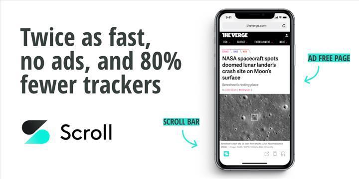 Scroll, reklamsız internet sağlamayı amaçlıyor