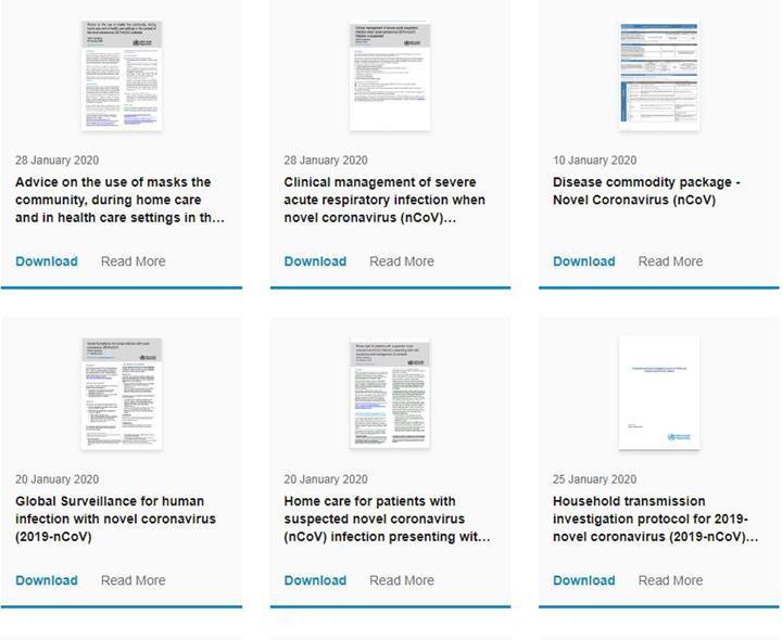 Dünya Sağlık Örgütü coronavirüs rehberini yayımladı