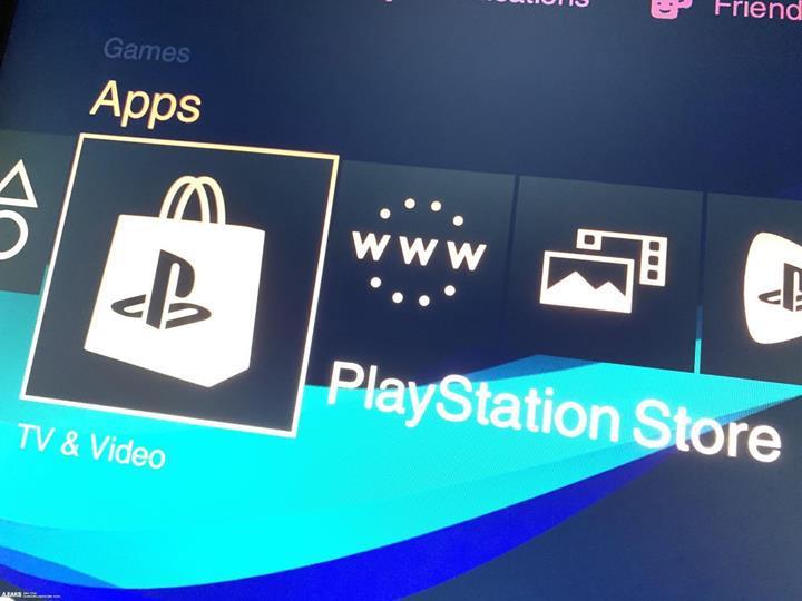 Sony PlayStation 5 arayüzünün fotoğrafı sızdırıldı