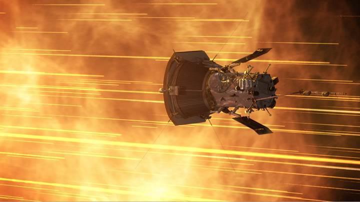 NASA'nın 'Güneş'e gönderdiği' uzay aracı, yeni bir hız rekoru kırdı