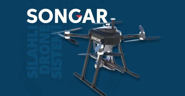 Makineli tüfekli drone Songar, TSK'da göreve başladı