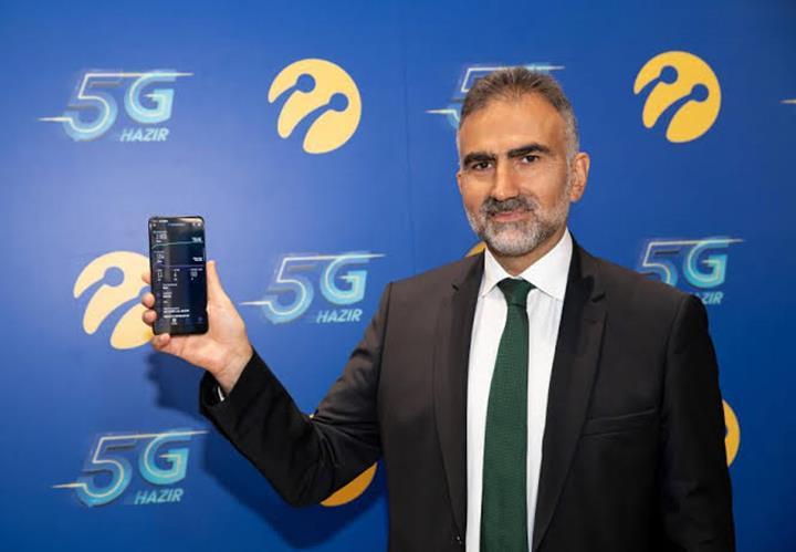 Türkiye'deki ilk 5G canlı yayını Turkcell gerçekleştirdi