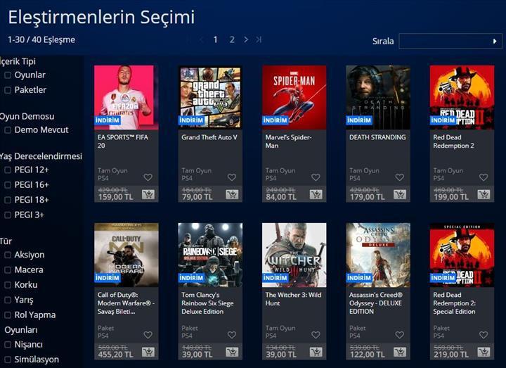 PS Store'da 'Eleştirmenlerin Seçimi' indirimleri başladı: İşte dikkat çekenler