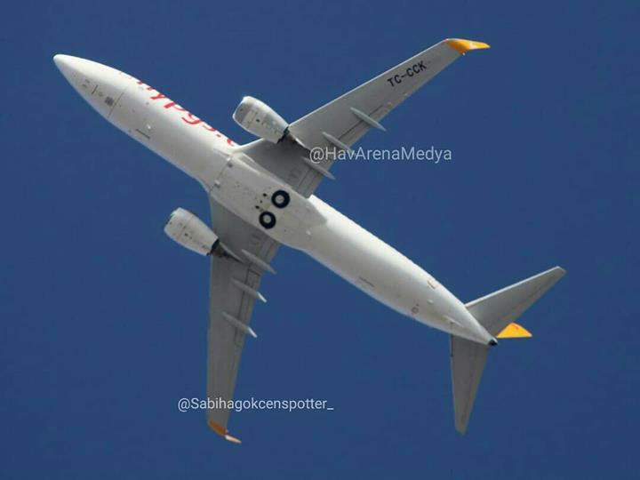 İstanbul'da pistten çıkan Pegasus uçağı yeniden havalandı