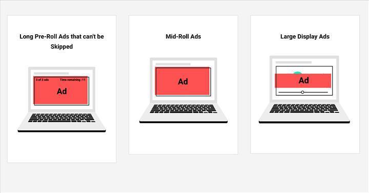 Chrome, videolardaki rahatsız edici reklamları engelleyecek
